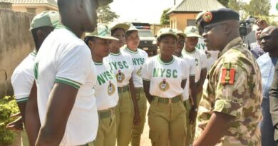 NYSC DG with Corps Members