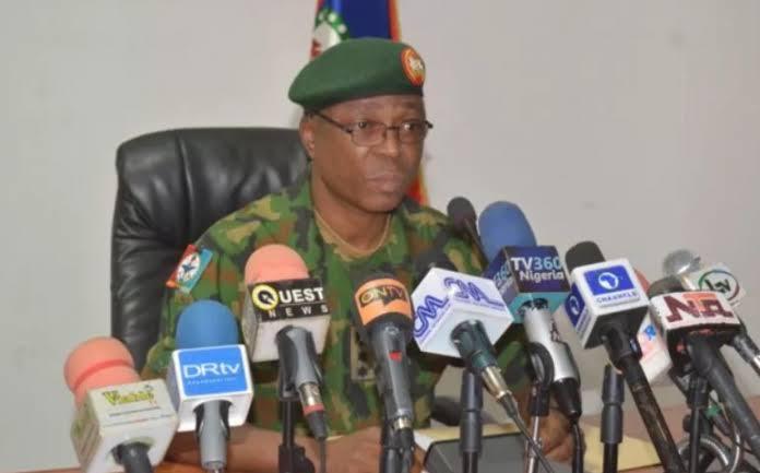 Brig-Gen. Onyema Nwachuckwu, Defence Spokesperson