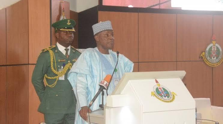 Maj-Gen. Bashir Salihi Magashi, Nigeria's Defence Minister