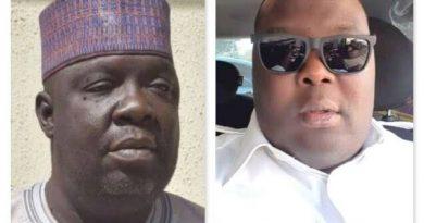 Senator Na'Allah and deceased pilot son