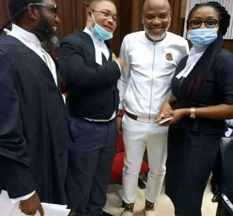 IPOB: Kanu to Remain in DSS Custody as Court Adjourns Case
